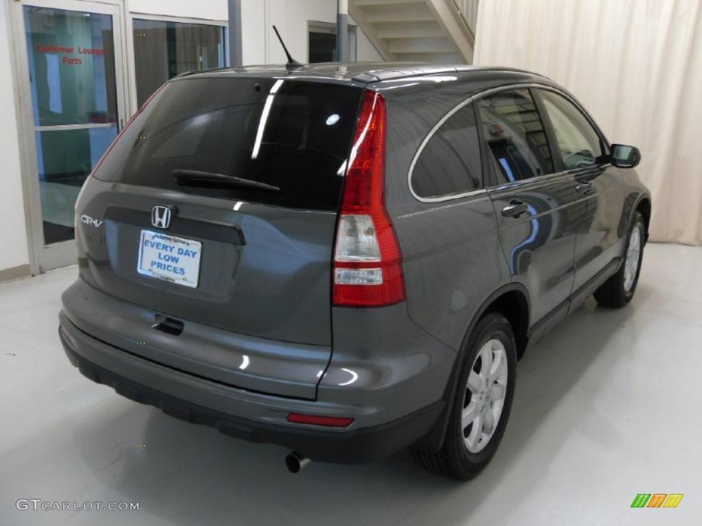 2011 CR-V SE - Polished Metal Metallic / Black photo #4