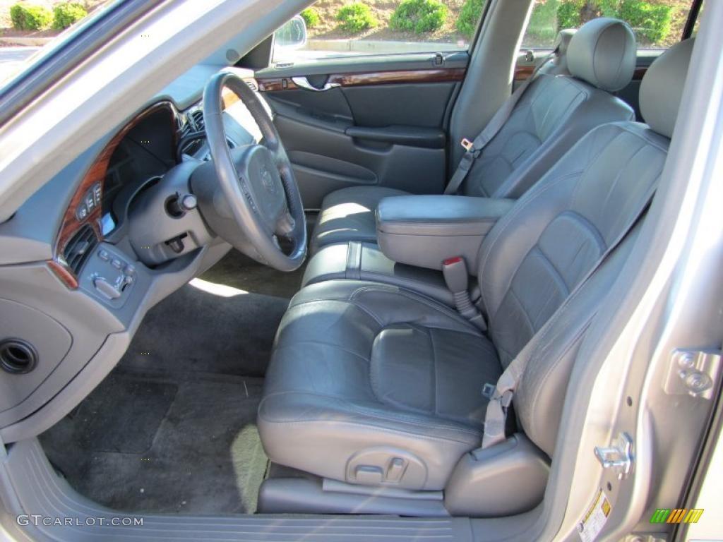 Dark Gray Interior 2005 Cadillac Deville Sedan Photo 38941918
