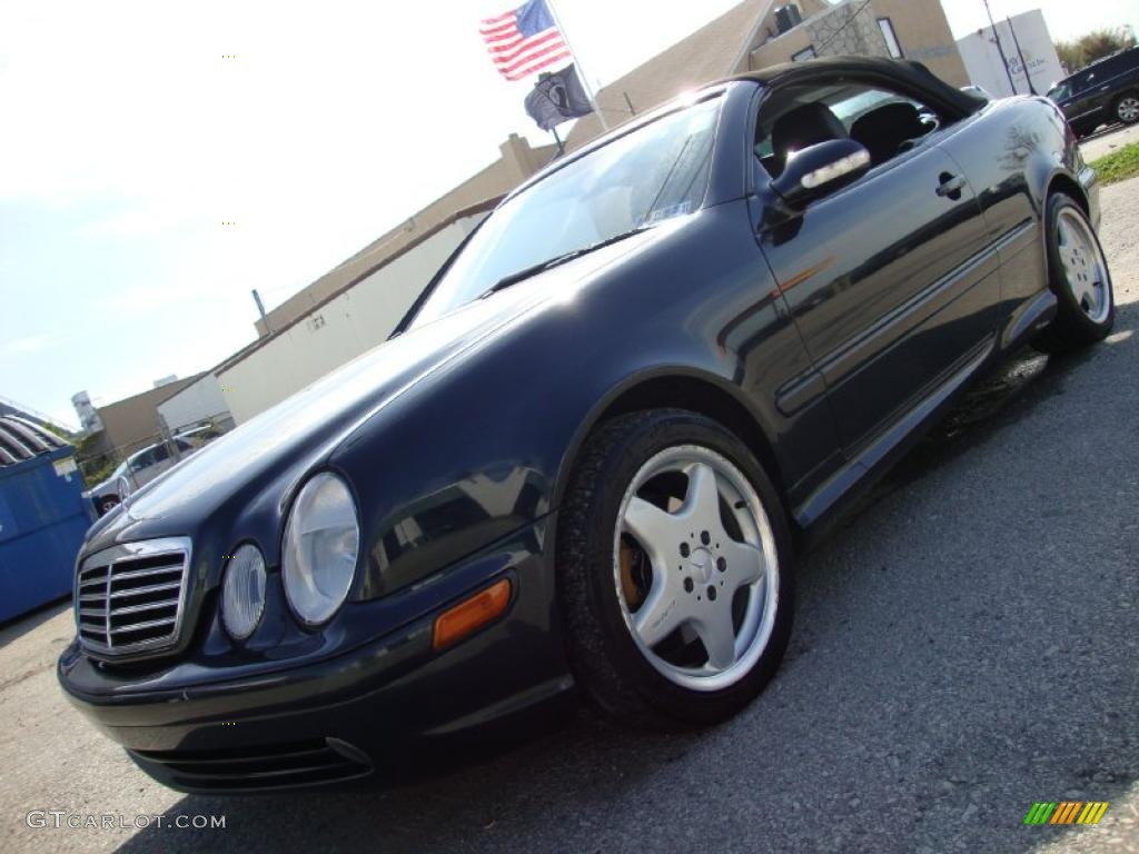2000 black opal metallic mercedes benz clk 430 cabriolet. Black Bedroom Furniture Sets. Home Design Ideas