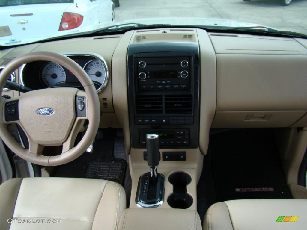 2008 ford explorer sport trac limited camel dashboard - Ford explorer sport trac interior ...