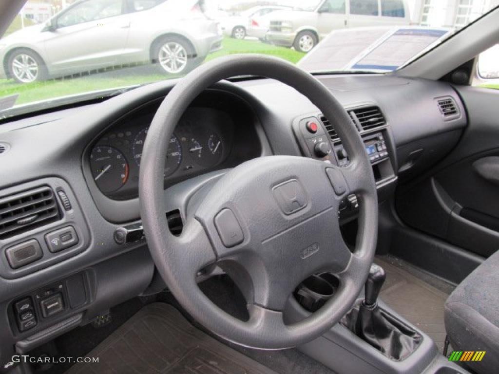 2000 Honda Civic Ex Coupe Gray Dashboard Photo 38948426