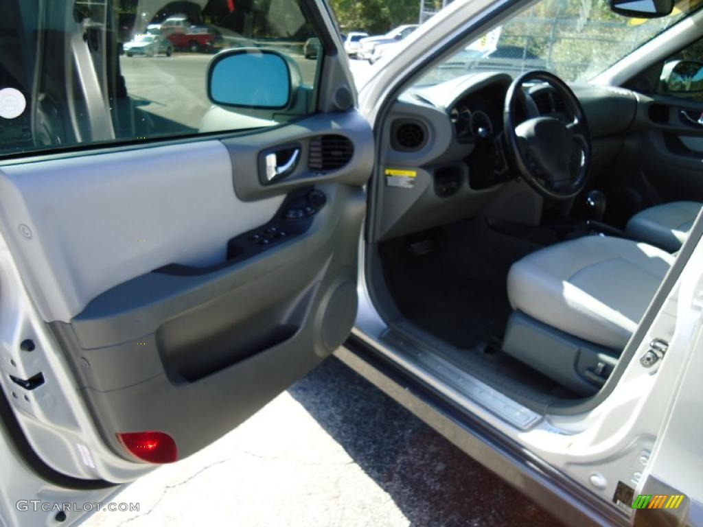 Gray Interior 2005 Hyundai Santa Fe Lx 3 5 Photo 38959222