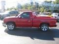 2005 Victory Red Chevrolet Silverado 1500 Regular Cab  photo #2