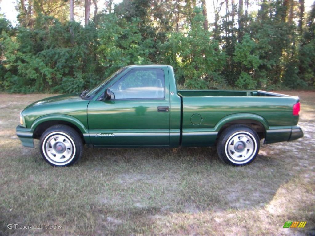 1996 Emerald Green Metallic Gmc Sonoma Sls Regular Cab 38917802 Gtcarlot Com Car Color Galleries