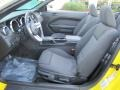 Dark Charcoal Interior Photo for 2006 Ford Mustang #38972932