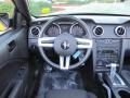 Dark Charcoal 2006 Ford Mustang V6 Deluxe Convertible Dashboard