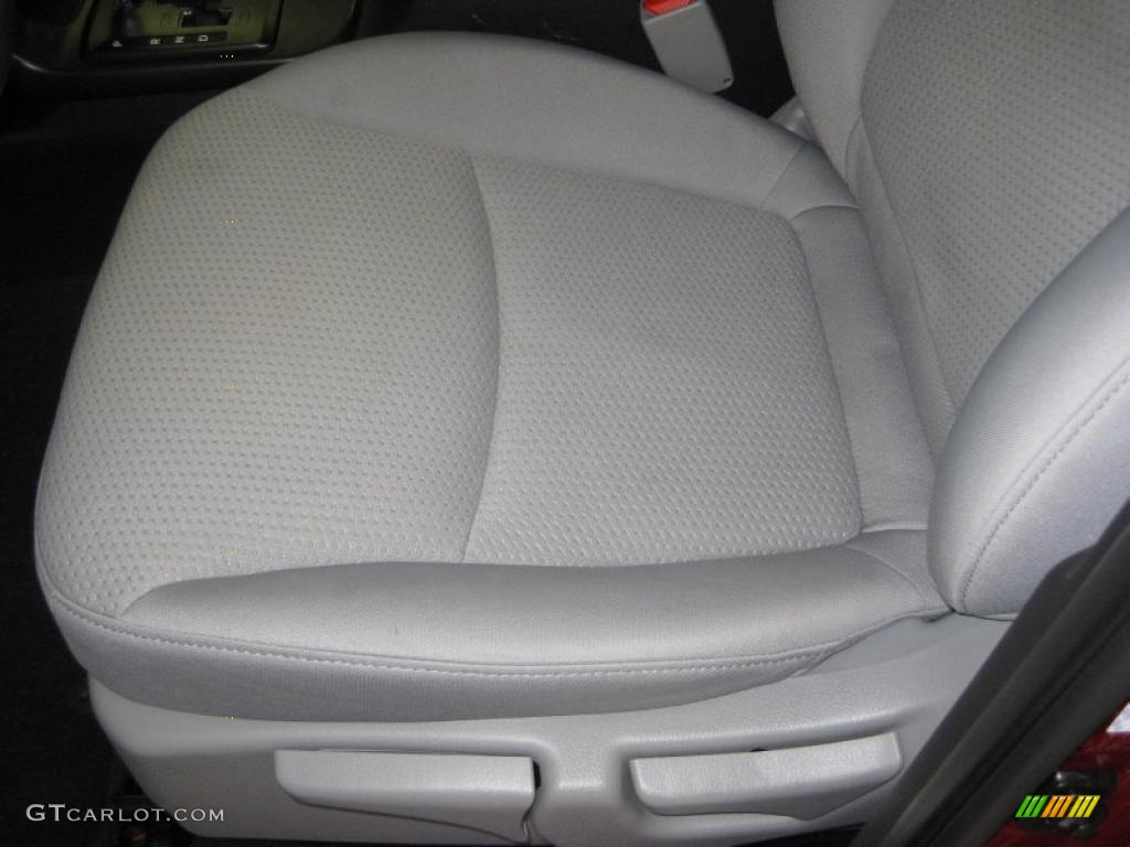 2011 Sorento LX AWD - Spicy Red / Gray photo #14