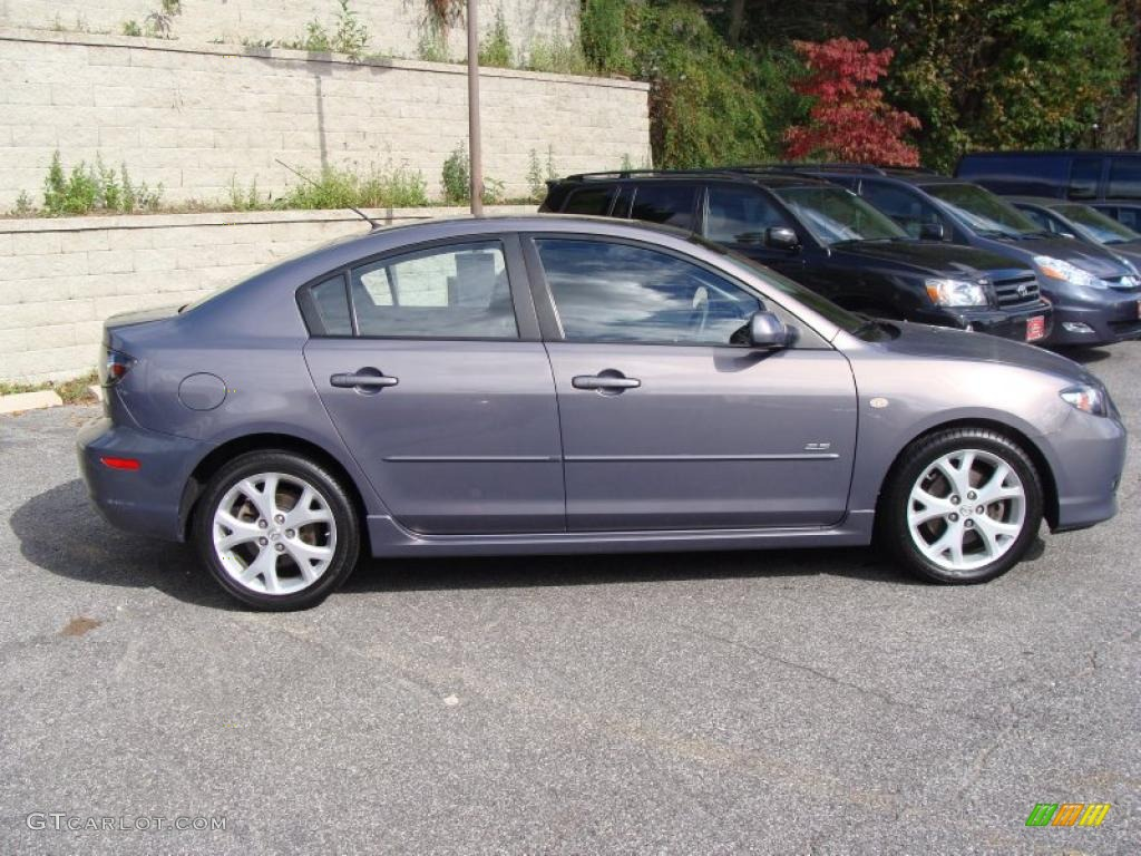 galaxy gray mica 2007 mazda mazda3 s grand touring sedan. Black Bedroom Furniture Sets. Home Design Ideas