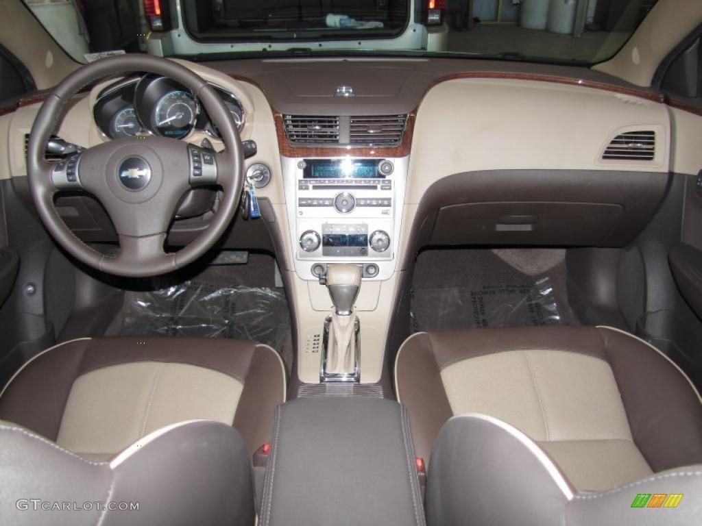 2010 Chevrolet Malibu Ltz Sedan Cocoa Cashmere Dashboard Photo 38987661