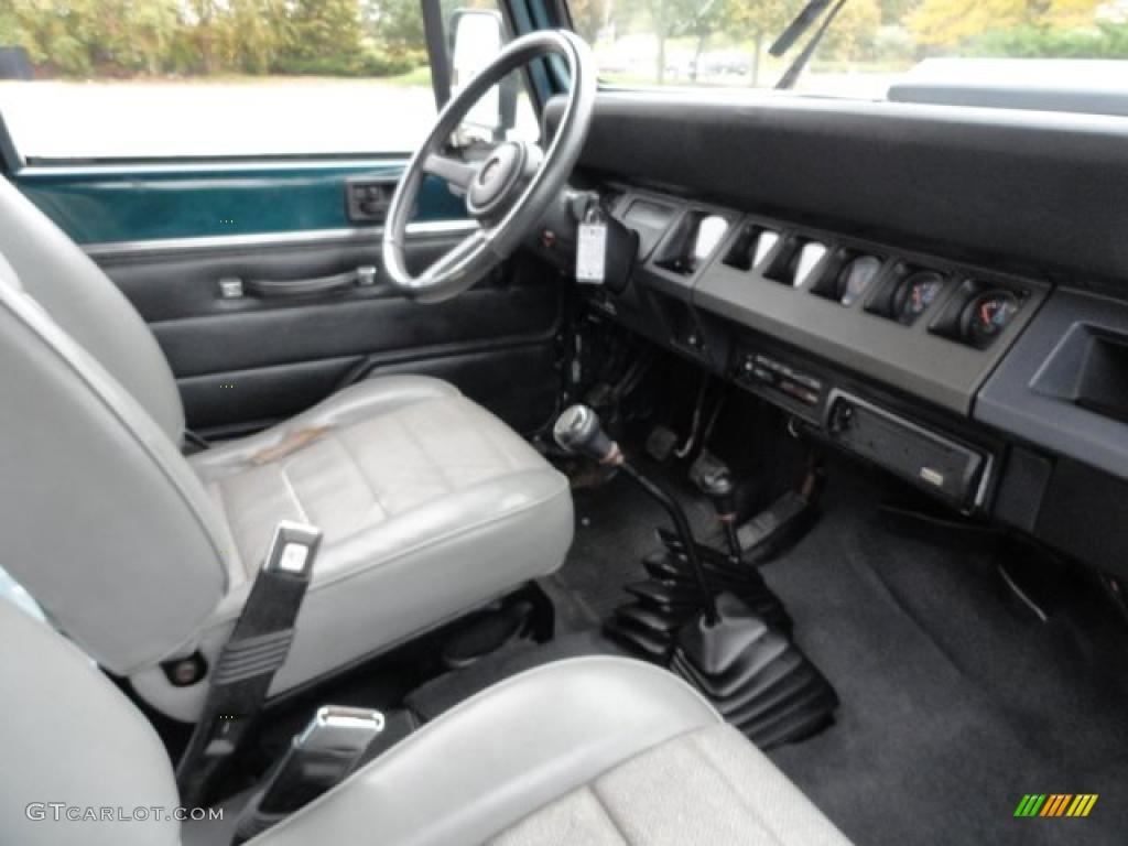 1997 Jeep Wrangler Se 1995 Jeep Wrangler S 4x4 interior Photo #38991397 ...