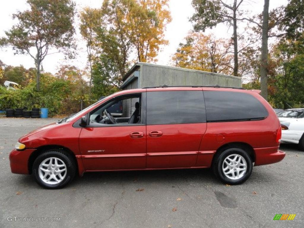 inferno red pearlcoat 2000 dodge grand caravan sport exterior photo. Cars Review. Best American Auto & Cars Review