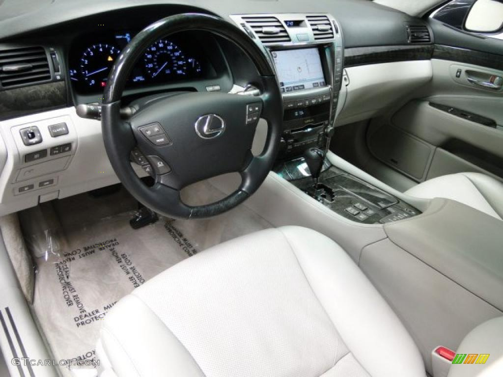 Light Gray Interior 2007 Lexus Ls 460 L Photo 38992825