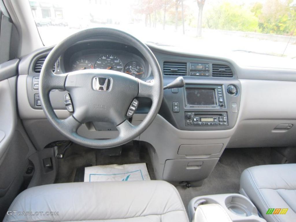Quartz Interior 2003 Honda Odyssey EX L Photo #38993845