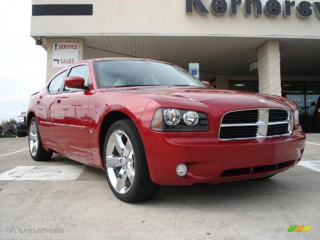 2010 inferno red crystal pearl dodge charger rallye 38917899 photo 3 car. Black Bedroom Furniture Sets. Home Design Ideas