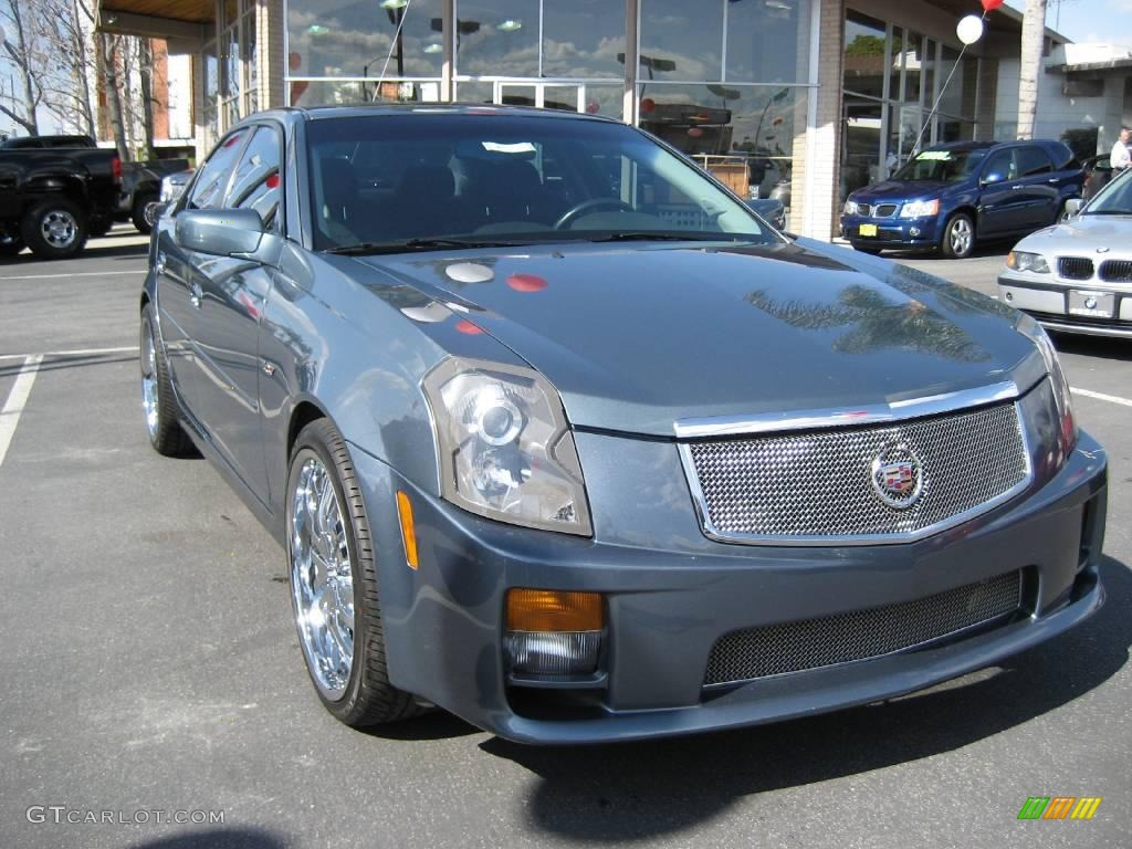 2005 stealth gray cadillac cts v series 3899249 car color galleries. Black Bedroom Furniture Sets. Home Design Ideas