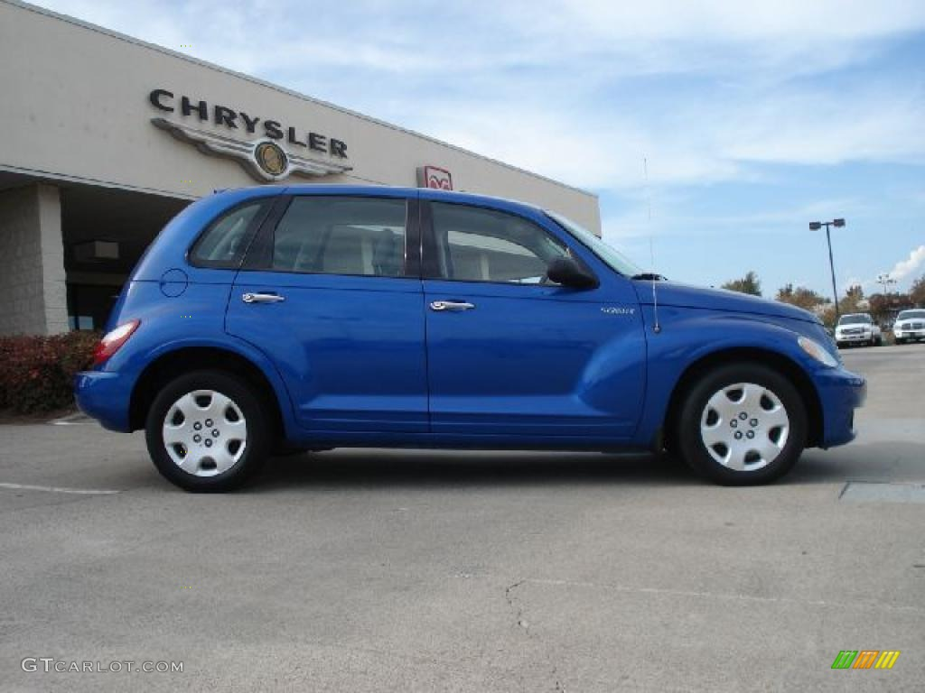 Electric Blue Pearl 2006 Chrysler Pt Cruiser Standard Model Exterior Photo 39000606