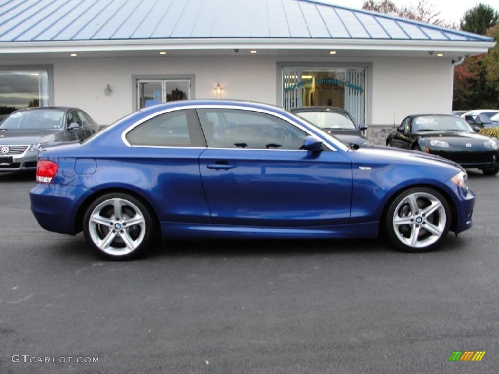 montego blue metallic 2008 bmw 1 series 135i coupe exterior photo 39002570. Black Bedroom Furniture Sets. Home Design Ideas