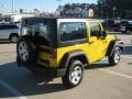 2011 Detonator Yellow Jeep Wrangler Sport 4x4  photo #5