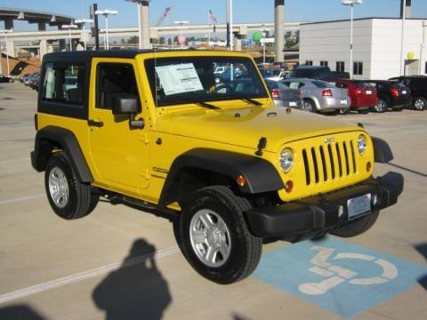 2011 Jeep Wrangler Sport 4x4 Data, Info and Specs