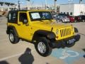 2011 Detonator Yellow Jeep Wrangler Sport 4x4  photo #7
