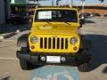 2011 Detonator Yellow Jeep Wrangler Sport 4x4  photo #8