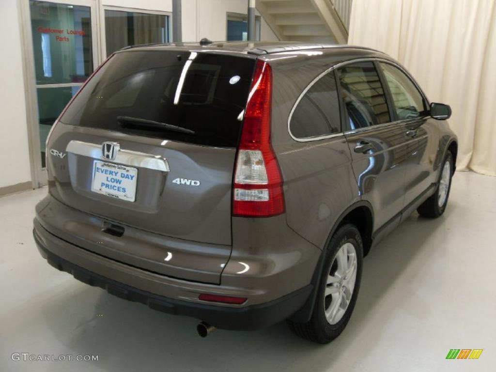 2011 CR-V EX 4WD - Urban Titanium Metallic / Ivory photo #5