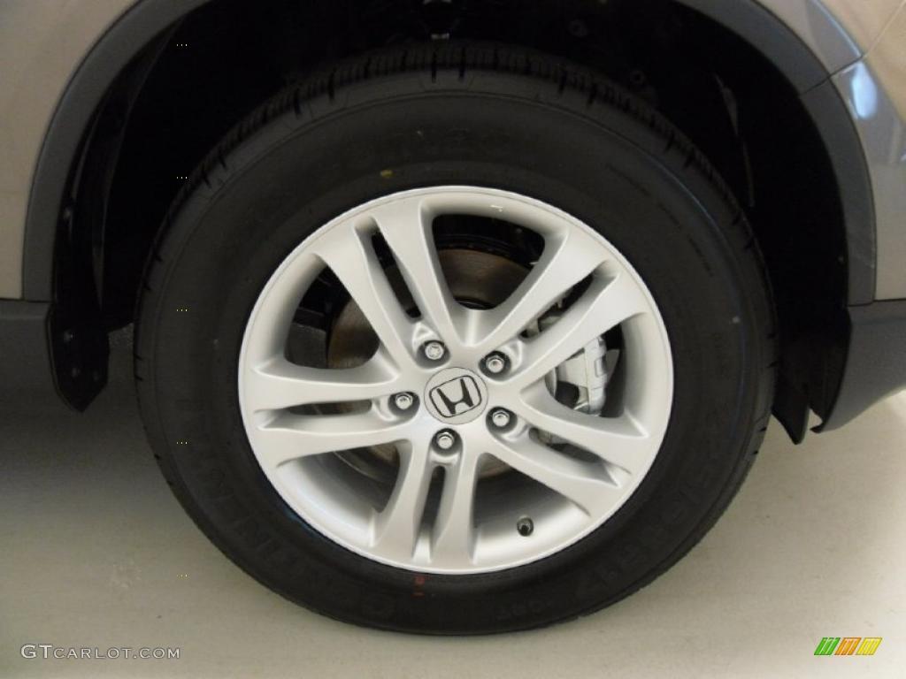 2011 CR-V EX 4WD - Urban Titanium Metallic / Ivory photo #28