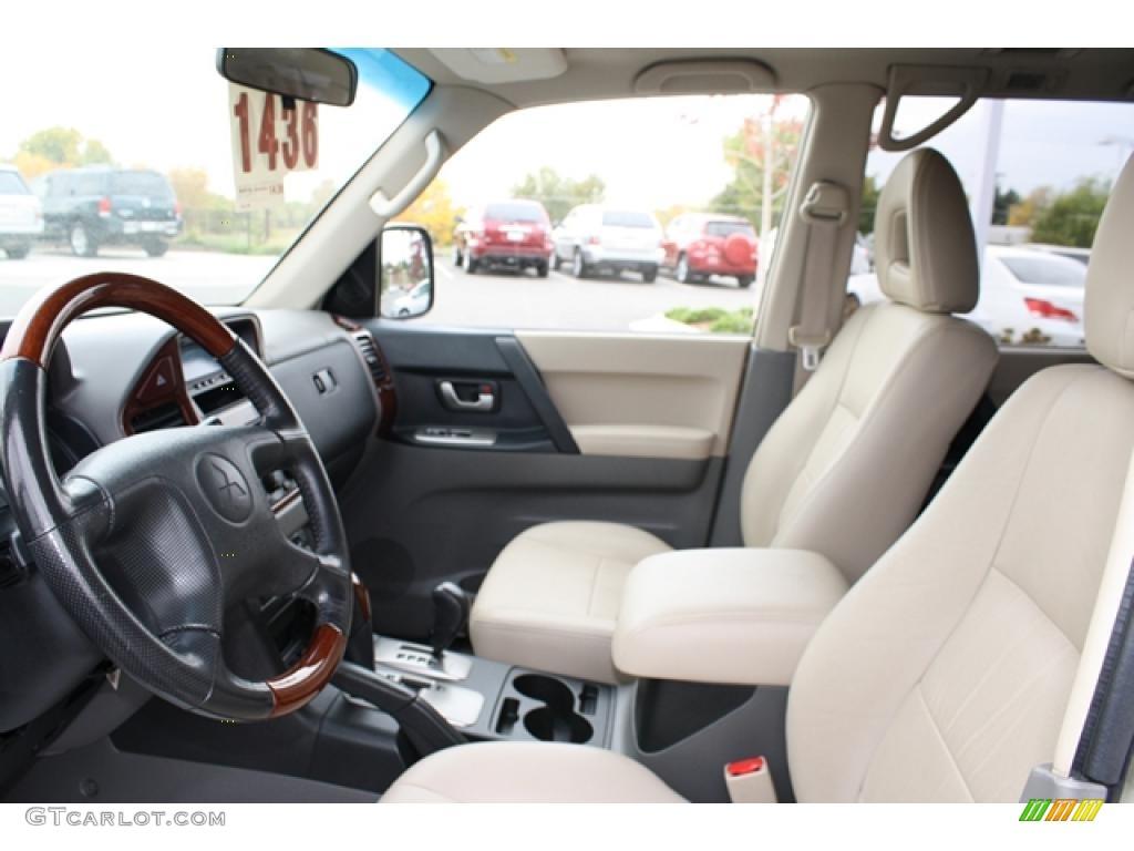 2005 mitsubishi montero limited 4x4 interior photo for Mitsubishi montero interior
