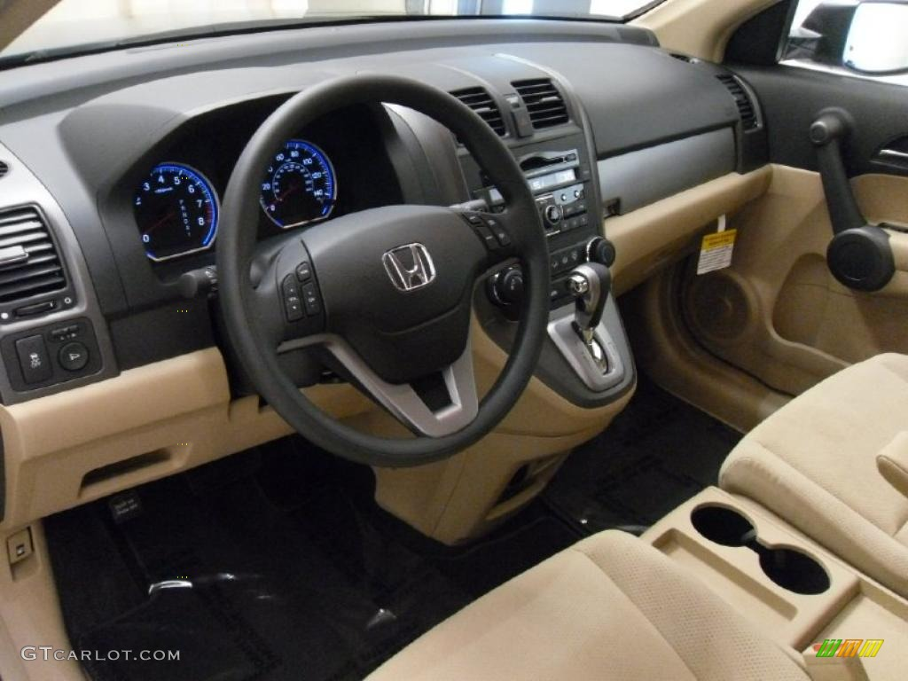 Ivory Interior 2010 Honda Cr V Ex Photo 39014831 Gtcarlot Com