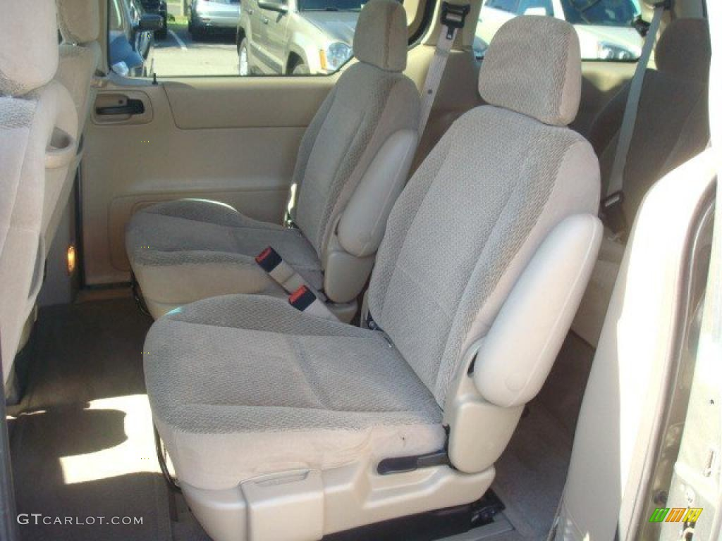 Medium Parchment Beige Interior 2002 Ford Windstar LX ...