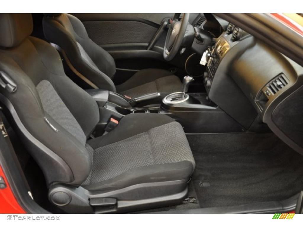 Black Interior 2004 Hyundai Tiburon Standard Tiburon Model