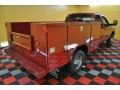 2008 Inferno Red Crystal Pearl Dodge Ram 3500 SLT Quad Cab 4x4 Chassis  photo #4