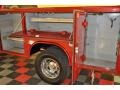 2008 Inferno Red Crystal Pearl Dodge Ram 3500 SLT Quad Cab 4x4 Chassis  photo #16