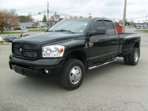 2007 Dodge Ram 3500 Sport Quad Cab 4x4 Dually Data, Info and Specs