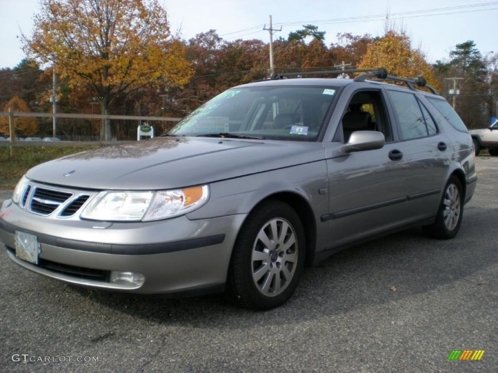 2003 steel grey metallic saab 9 5 linear sport wagon 39006054 car color galleries. Black Bedroom Furniture Sets. Home Design Ideas