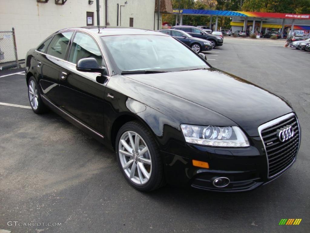 Brilliant Black 2011 Audi A6 3 0t Quattro Sedan Exterior Photo 39029171 Gtcarlot Com