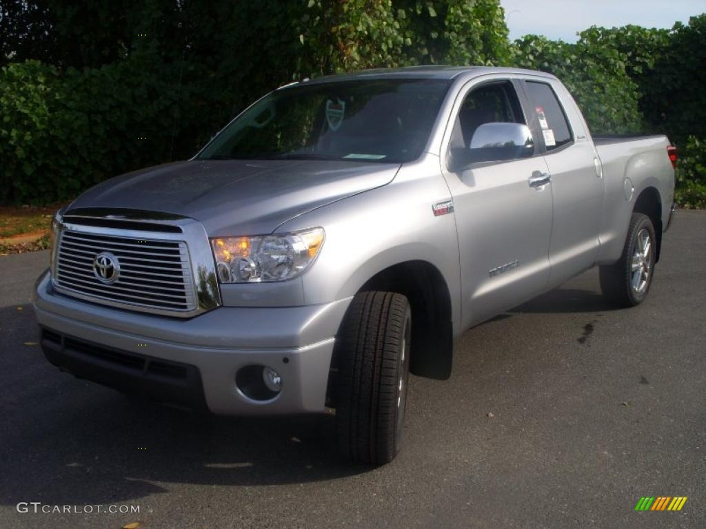 2011 Tundra Limited Double Cab 4x4 - Silver Sky Metallic / Graphite Gray photo #1