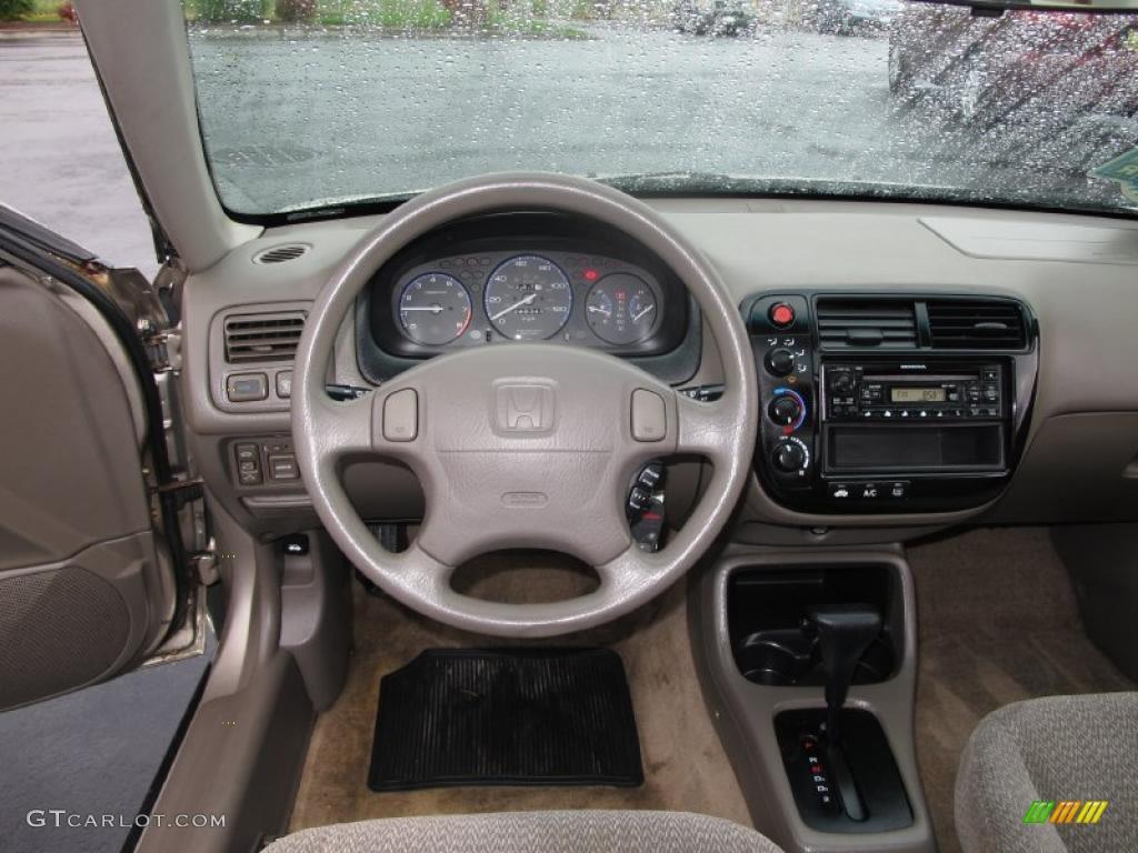 2000 Honda Civic Ex Sedan Dashboard Photos