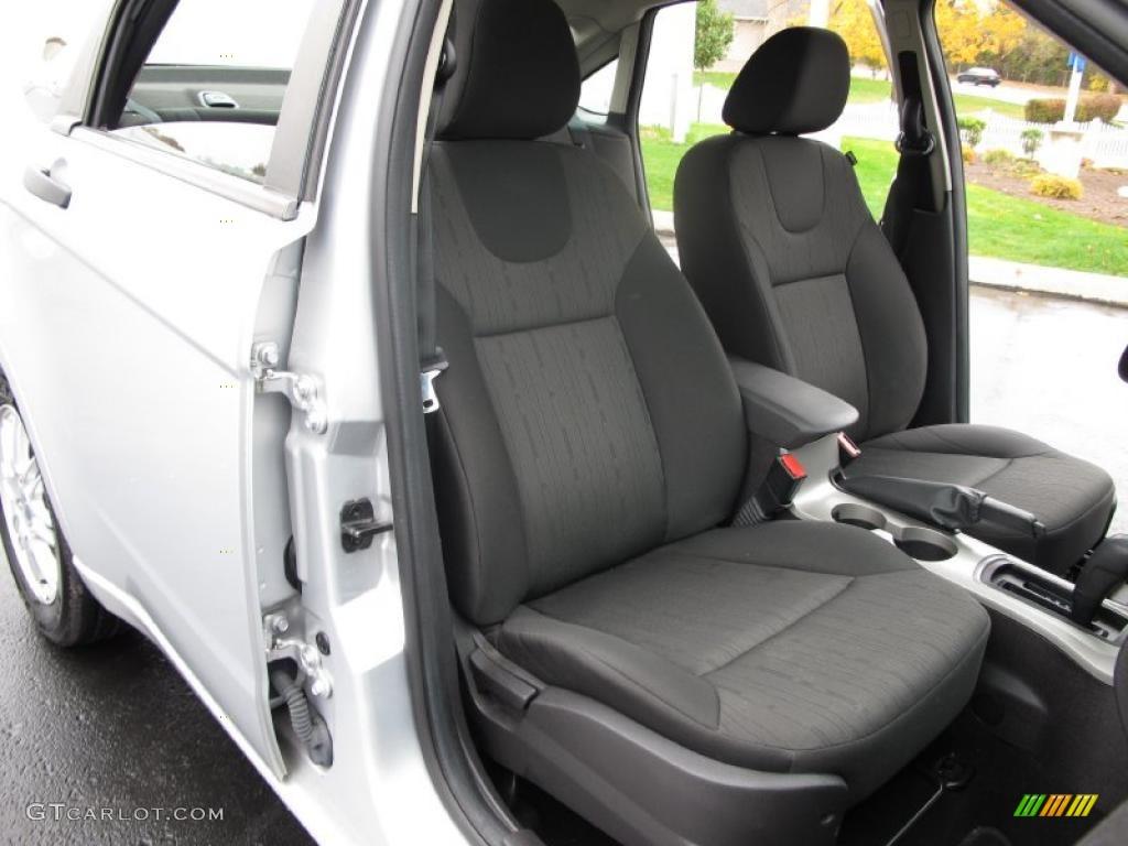 Charcoal Black Interior 2008 Ford Focus Se Sedan Photo 39035407