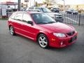 2002 Protege 5 Wagon Classic Red