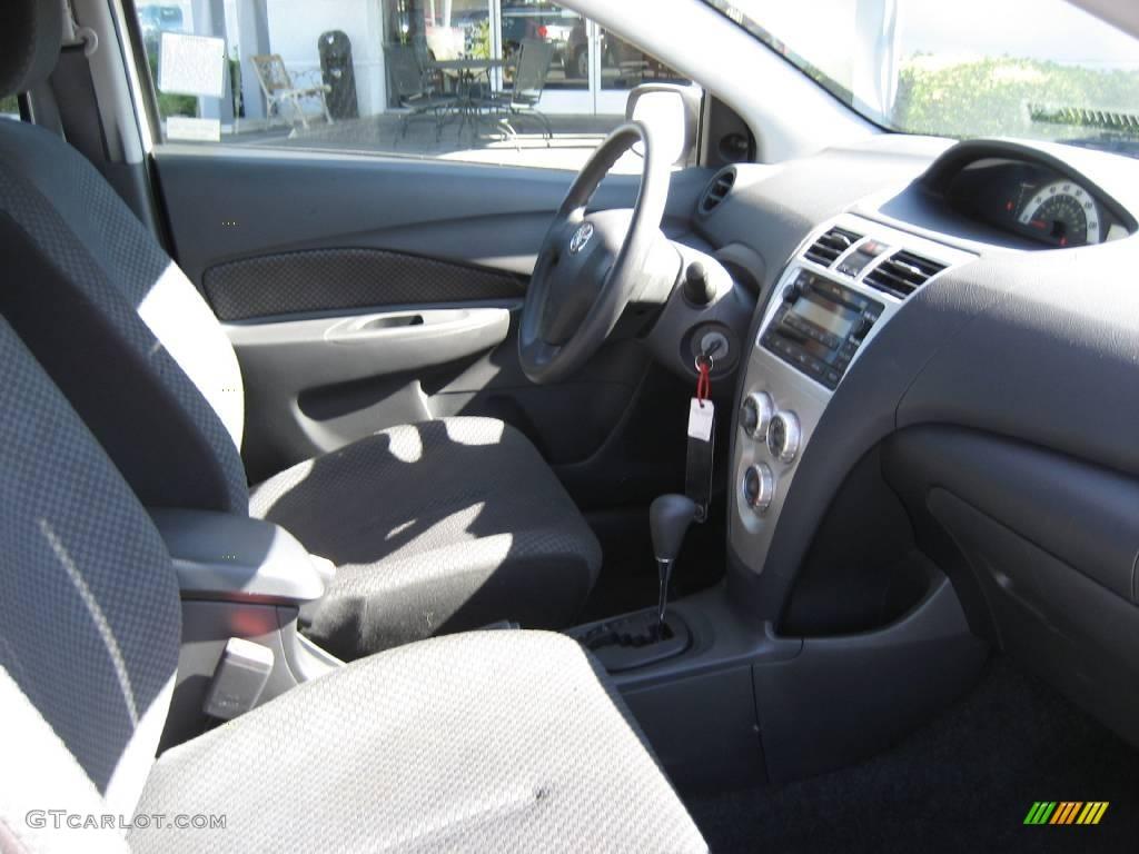 Yaris s sedan barcelona red pearl color dark charcoal interior - 2008 Polar White Toyota Yaris Sedan 3899390 Photo 13