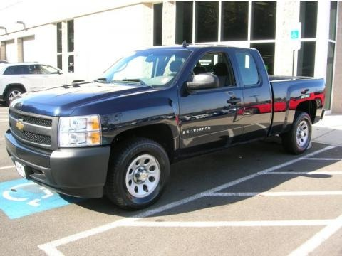 2008 chevrolet silverado 1500 work truck extended cab data info and specs. Black Bedroom Furniture Sets. Home Design Ideas