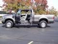 2004 Dark Shadow Grey Metallic Ford F250 Super Duty XLT SuperCab 4x4  photo #17