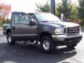2004 Dark Shadow Grey Metallic Ford F250 Super Duty XLT SuperCab 4x4  photo #22