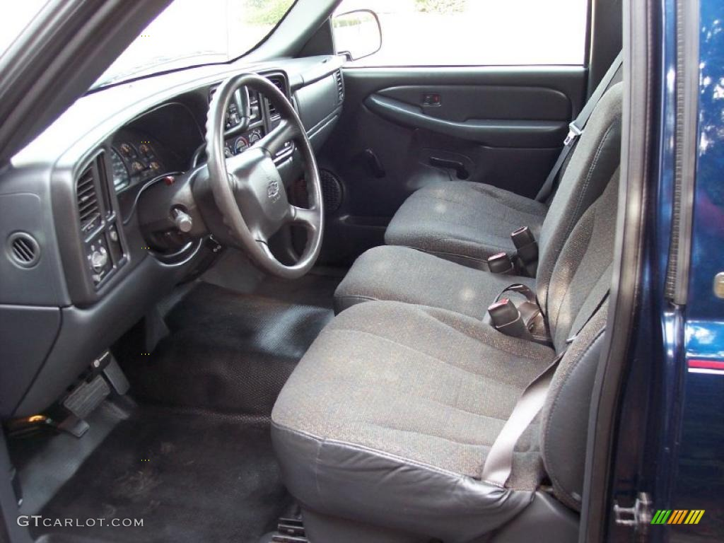 Graphite Interior 2000 Chevrolet Silverado 1500 Regular Cab Photo 39044732