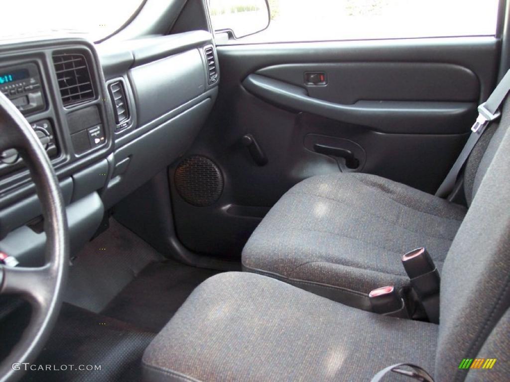 graphite interior 2000 chevrolet silverado 1500 regular cab photo 39044780