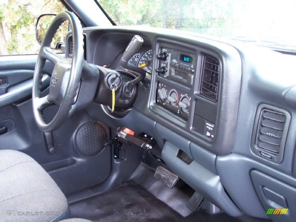 2000 Chevrolet Silverado 1500 Regular Cab Graphite Dashboard Photo 39044840