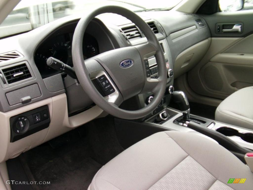 High Quality Medium Light Stone Interior 2010 Ford Fusion SE Photo #39051800 Pictures