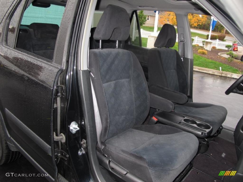 Black interior 2006 honda cr v ex 4wd photo 39052184 for Honda crv 2006 interior