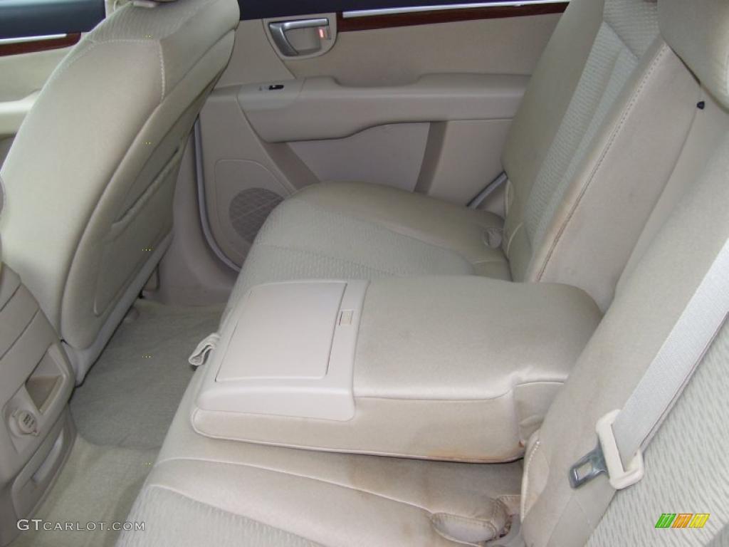 beige interior 2007 hyundai santa fe gls photo 39054140. Black Bedroom Furniture Sets. Home Design Ideas
